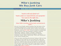Mike's Junking - We Buy Junk Cars