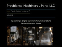Providence Machinery & Parts LLC - Extrusion Parts